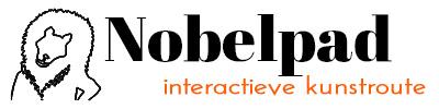Koning Nobelpad interactieve kunstroute Logo